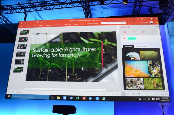 """Build 2015发布会简要回顾:Windows 10把iOS/Android""""都吃了""""的照片 - 12"""