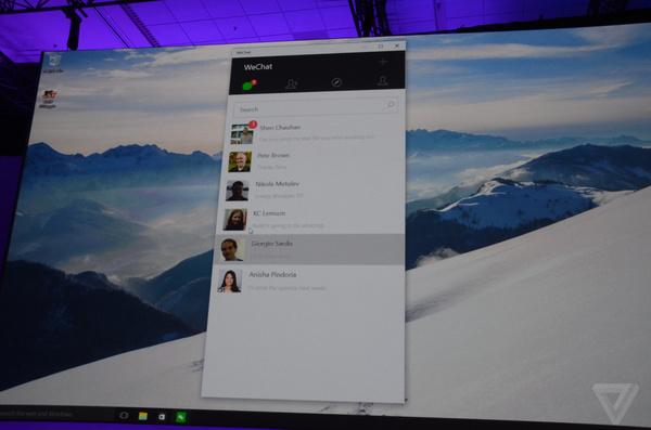 """Build 2015发布会简要回顾:Windows 10把iOS/Android""""都吃了""""的照片 - 16"""