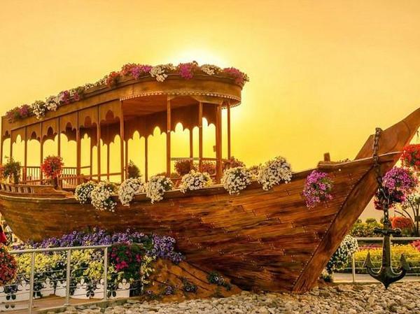 思越木结构|迪拜奇迹花园
