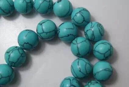 绿松石:象征宁静和广阔的松石蓝色