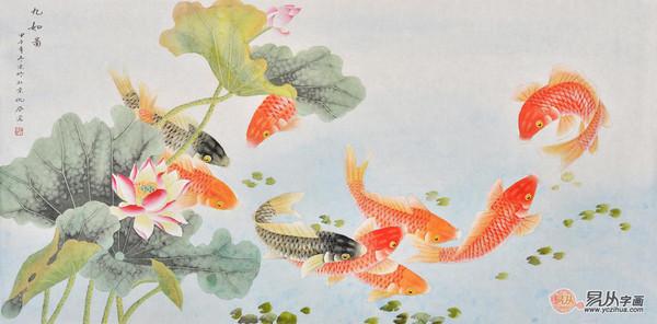 家居臥室掛畫風水禁忌就掛鯉魚、竹子、荷花字畫