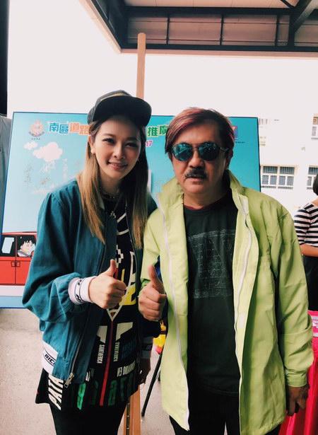 柳妍熙变马路天使宣传交通安全 偶遇sa爸获肯定